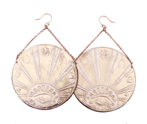 coin earrings big gloss copy
